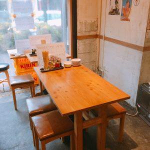 刈谷×居酒屋 大衆餃子酒場NOBORU(のぼる)のテーブル席1