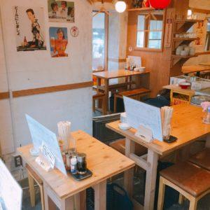 刈谷×居酒屋|大衆餃子酒場NOBORU(のぼる)のテーブル席3